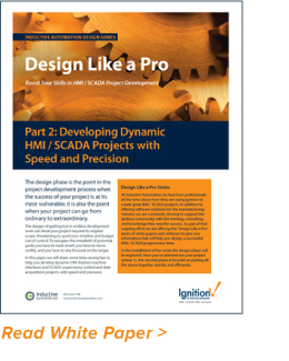 Design Like a Pro: Developing Dynamic HMI/SCADA Projects with Speed and Precision
