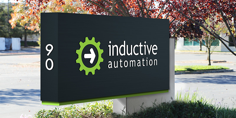 Inductive Automation - New Building - Monument Sign