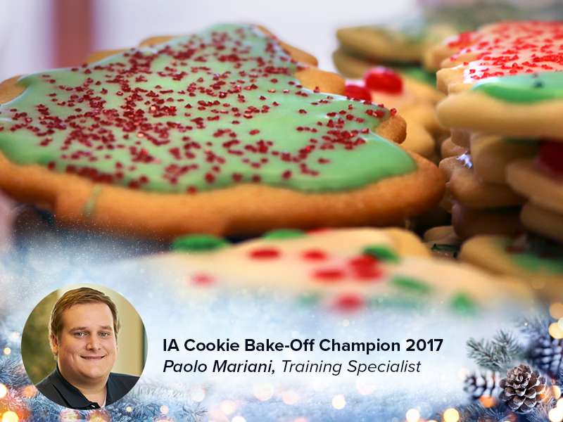 Paolo Mariani - Cookie Bake-Off Winner