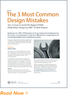 Tip Sheet: The 3 Most Common Design Mistakes