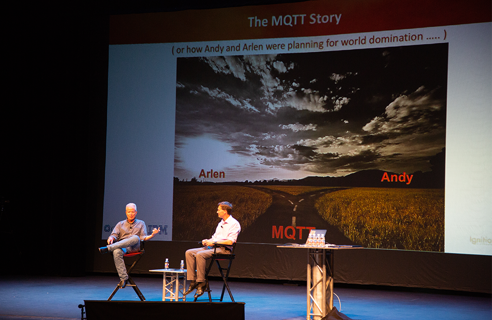 Andy Stanford-Clark and Allen Ray Discuss MQTT ICC