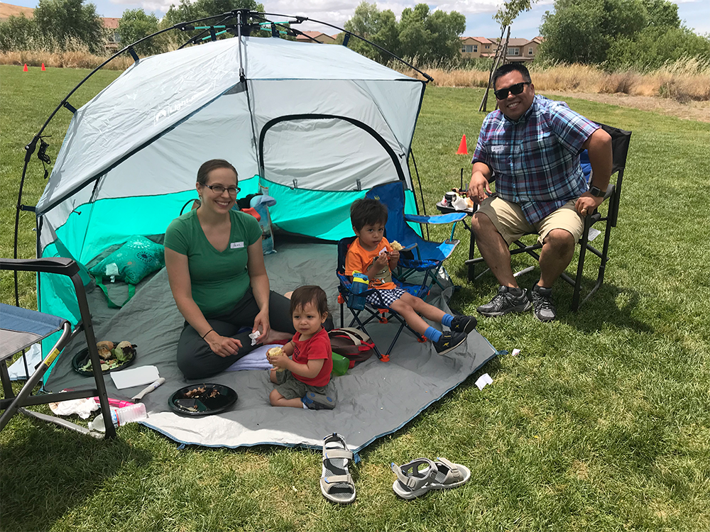 Picnicking with Family at Inductive Automation