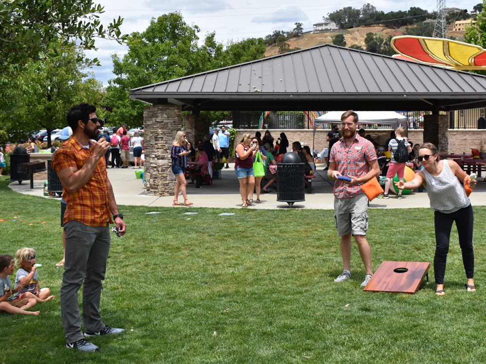 Lawn Games at Inductive Automation's Picnic