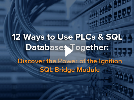 12 Ways to Use PLCs & SQL Databases Together